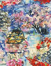 98310 Yoshino Chinese Theme Pagoda Multi Colour Holden Decor Fusion Wallpaper