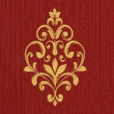 91805 - Neapolis 2 Motiv Gold & rot Galerie Tapete