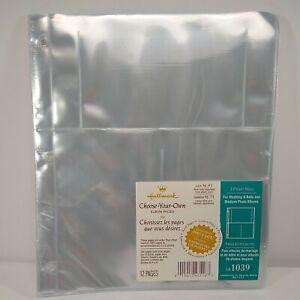 Hallmark Choose Your Own Album 3 Pocket 12 Pages Wedding Baby 4x6 Photos AR1039
