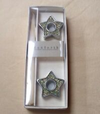 Danforth Fine Pewter USA Candle Holders Star Shaped New in Box