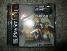 Ehrgeiz (Sony PlayStation 1, 1999) ps1 NEW Sealed