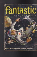 Fantastic Magazine February 1956 Paul Fairman Ivor Jorgensen Eric Dean