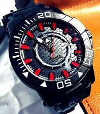 SHARK: Army: Mineral Crystal/ Large Face Watch.