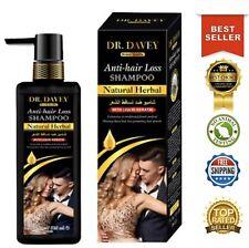 Dr. Davey Natural Herbal Anti Hair Loss Shampoo w Liquid Keratin Treatment USA