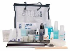THE EDGE QUICK NAILS ACRYLIC DIPPING KIT -  FRENCH DIP starter student  tips
