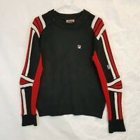 Vtg FILA Bella Italia Creativita Ski Padded Knit Sweater Adult M L Nello Sport
