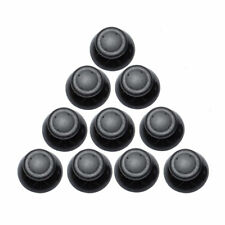 10 Pcs of Analog Thumbsticks For Xbox 360 Replacement Stick Cap Grip - Black YS