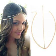 European Charming Bohemian Women's Tassel Head Chain Headpiece Hair Band