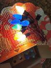 10 VTG Westinghouse MAZDA C9 SWIRL  FLAME CHRISTMAS BULBS ORIGINAL BOX WORKING