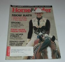 Horse & Rider - December 2006 Show Hats, Trot Boxes, Laminitis, Care Tips
