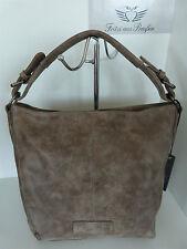 ✿Herbst 1/2017✿Fritzi aus Preußen Shopper Schultertasche Beatriz Vintage Basalt