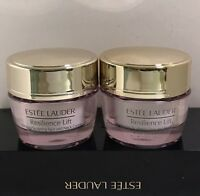 2 x Estee Lauder Resilience Lift Firming/Sculpting Face and Neck Creme SPF 15