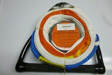 Accurate water ski rope line 5 section loop New with Power Grip tow