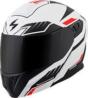 Scorpion EXO-GT920 Shuttle Modular Motorcycle Helmet White/Black