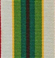 AUSTRALIAN SERVICE MEDAL FULL SIZE RIBBON ARMY NAVY AIR FORCE