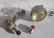 Mid Century Rocket Bicycle Head Lamp & Tail Light