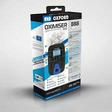 OXFORD Anniversary Oximiser 900 UK Motorcycle Battery Charger *FREE UK POSTAGE*