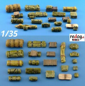 1/35 Military Scale Modelling Resin Stowage Diorama Accessories Kit 5