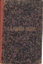 C.G. GORDONS Biografi-Biography-Stockholm 1886 Book-History Genealogy
