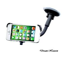 New In Car Windscreen Cradle Stand Mount Holder Kit For Apple Iphone 5 5G 5S UK