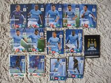 PANINI ADRENALYN XL CHAMPIONS LEAGUE 2013/14 manchester city  COMPLETE   2014