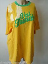 Nike hombre amarillo / Verde 100% Algodón Camiseta de manga corta XL