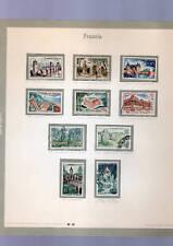 8 francobolli francia viaggiati- 4 euro