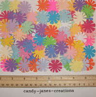 50 MARTHA STEWART COSMOS FLOWER PAPER PUNCHES/ CUT OUTS/ EMBELLISHMENTS