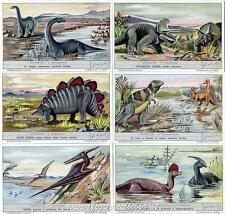 Chromo Liebig Sang. 1710 ITA I Dinosauri ANNO 1959