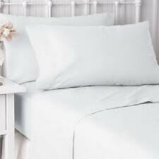 1 NEW PILLOW CASES COVER KING SIZE 20''X40'' BRIGHT WHITE T-200 HOTEL RESORT SPA