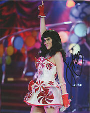 KATY PERRY Hand Signed 8 x 10 Color Photo Autograph w/ COA RARE AUTO SEXY PIC