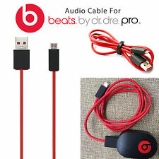 US STOCK USB Charging Charger Cable Cord For Beats by Dr. Dre Wireless Pill Red