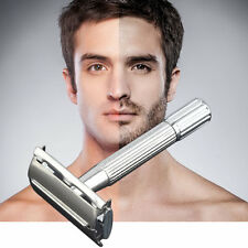 Men's Classic Traditional Shaver Double Blade Safety Shaving Salon Razor WD JX