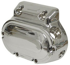 TRANSMISSION END COVER CHROME HARLEY SOFTAIL DYNA ELECTRA GLIDE ROAD KING TOUR
