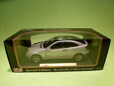 MAISTO 1:18 MERCEDES BENZ  C SPORTCOUPE - RARE SELTEN - GOOD CONDITION IN BOX