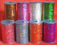 LUREX Olografici alta qualità Filo 3000 Metri ognuno Spool.choose da diff col