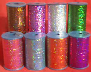 LUREX Holographic Quality Thread 3000 Mtrs each many colours BUY 2 GET 3RD FREE