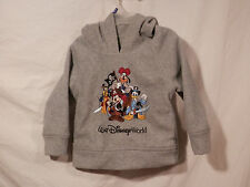 Disney Parks Mickey & Friends Pirate hoodie size XXS child  Embroidered pullover