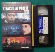 VHS FILM Ita Azione ATTACCO AL POTERE denzel washington bruce willis no dvd(VH65