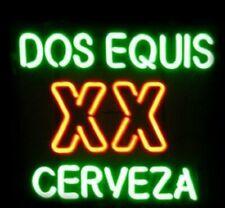 "New Dos Equis Xx Cerveza Bar Beer Man Cave Bar Neon Light Sign 20""x16"""