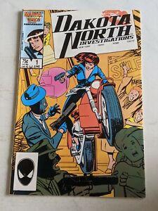 Dakota North Investigations #1 June 1986 Marvel Comics
