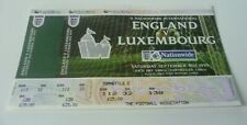 England v Luxembourg Ticket Original Unissued 4/9/1999 Mint