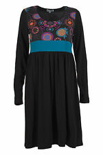 Women's Polyester Round Neck Dresses