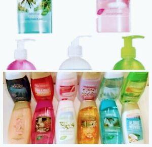 New Avon Senses Shower Gel/Creme, Hair & Body Wash, Hand Wash FREE UK P&P