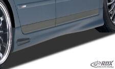 RDX minigonne AUDI a4 b6 8e gonne BARRE SPOILER LATERALI DESTRA SINISTRA