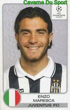 146 ENZO MARESCA ITALIA JUVENTUS STICKER PANINI CHAMPIONS LEAGUE 2001-2002