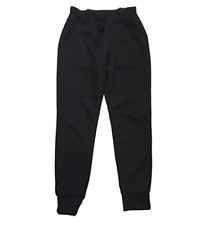 32 Degrees Heat Ladies Fleece Tech Jogger Pant, Black, Small