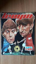 SPORT MAGAZINE TEMPO 1987 RED STAR vs REAL MADRID GAME ANNOUNCEMENT