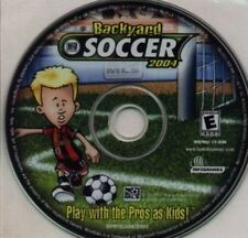 Backyard Soccer 2004  Humongous Entertainment New CD  play with the pros as kids