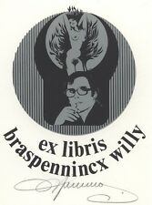 Ex Libris Willy Braspennincx : Opus 1, Willy Braspennincx